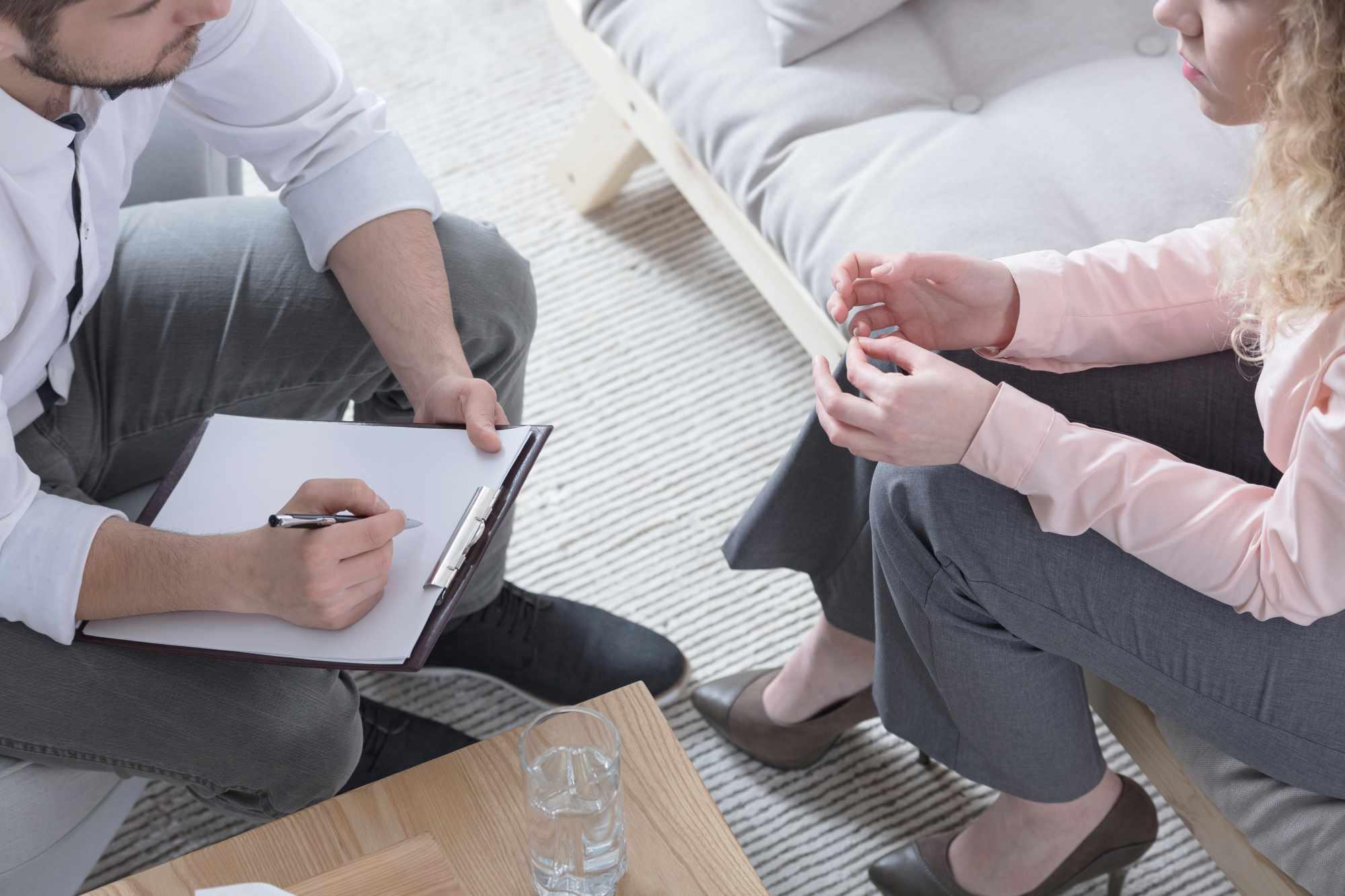 terapist ile danışan birlikte